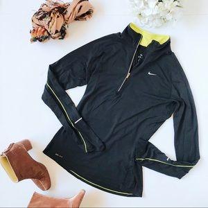 Nike Black Dri-Fit Nike Element Running Top